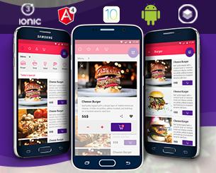 Le Chef ionic app theme