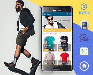 My Fashion ionic app theme