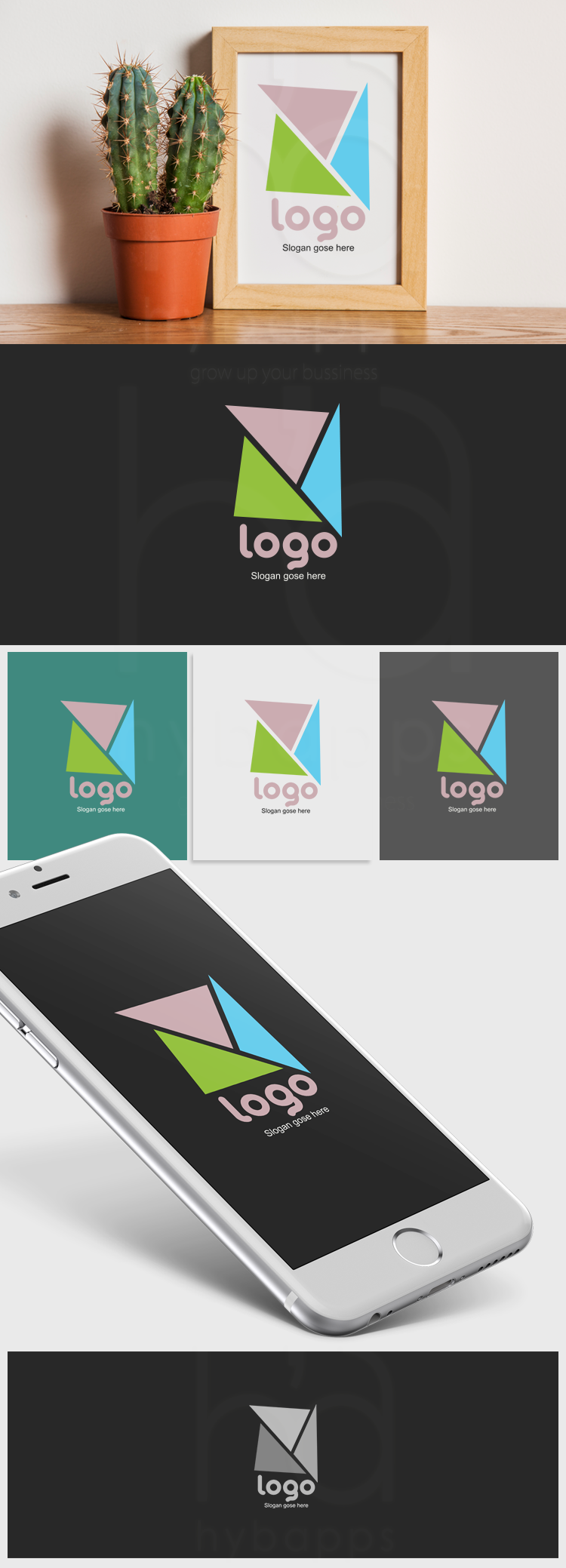 Interior design logo-ionic app theme