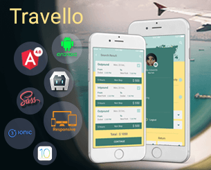 Travello ionic app theme