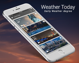 Weather Today ionic app theme