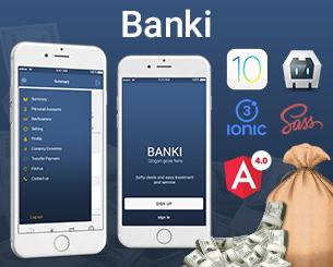 Banki-ionic app theme
