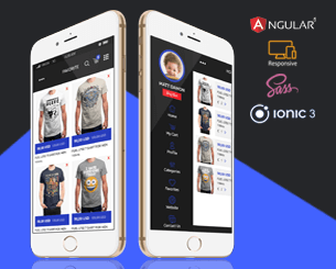 SellZone - e-commerce template  ionic app theme