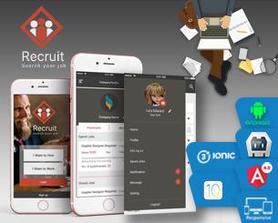 hire ionic app theme