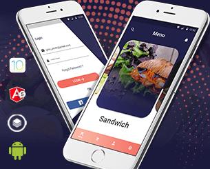 Eat  ionic app theme
