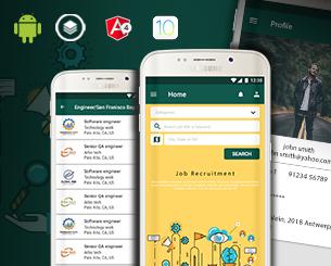 Jobs ionic app theme
