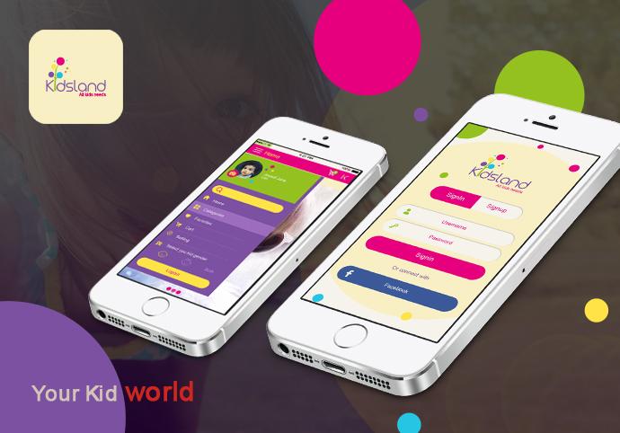 Kids ionic app theme
