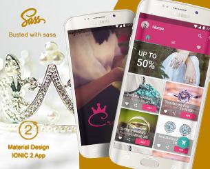 Crown ionic app theme