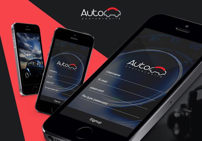 Auto cars ionic app theme