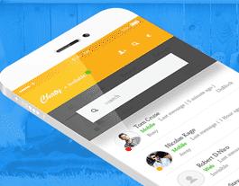 Chaty ionic app theme