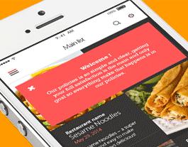 Sauce (test) ionic app theme
