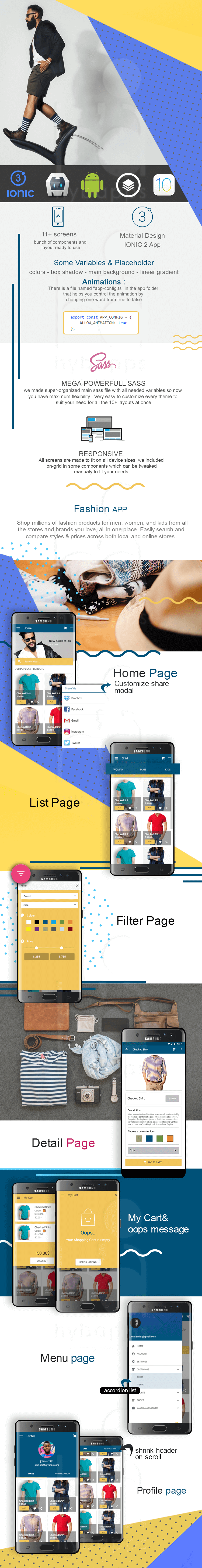 My Fashion-ionic app theme