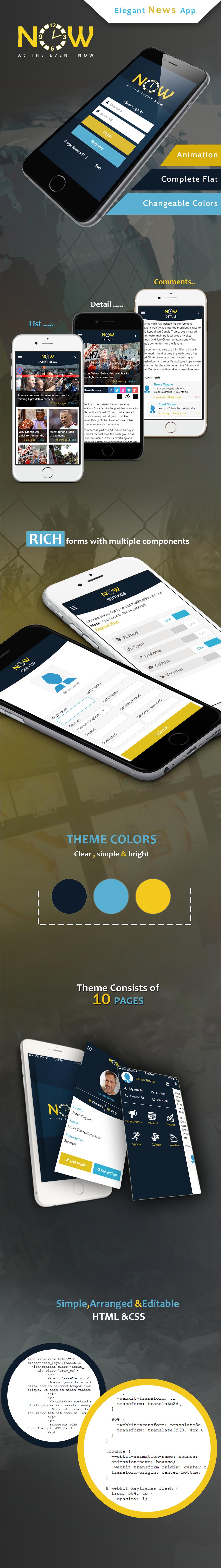 NOW-ionic app theme