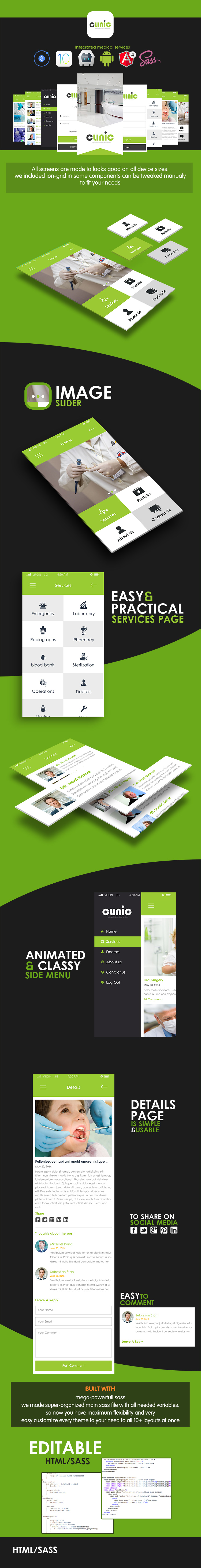 Clinc v2-ionic app theme