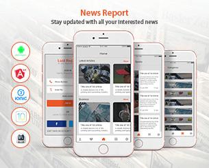 Last Report ionic app theme