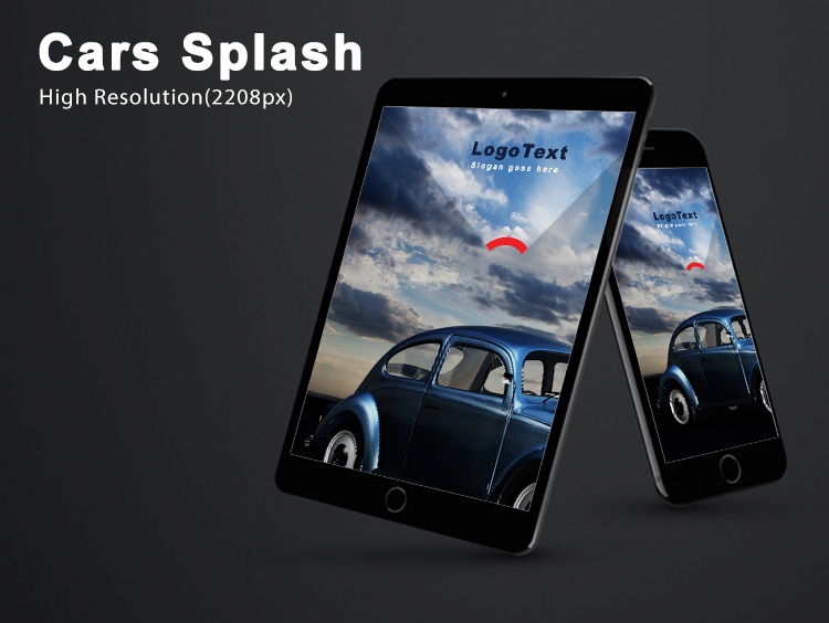 Car Splash-ionic app theme