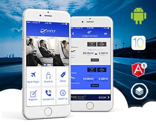 AirFly (ionic 3 version) ionic app theme