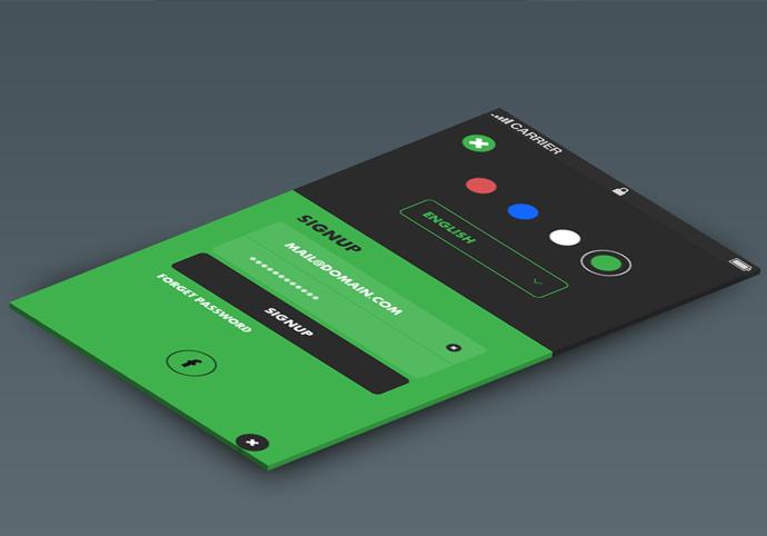 Ask-ionic app theme