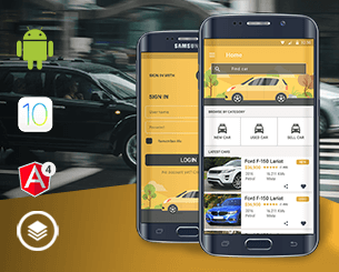 Original Cars ionic app theme