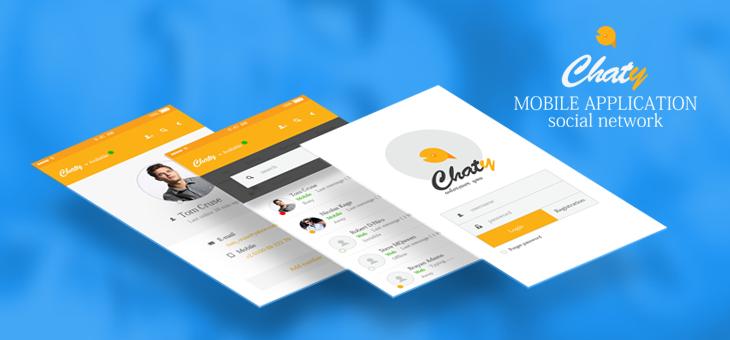 Chaty-ionic app theme