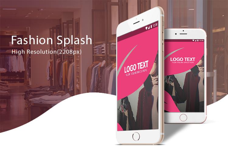 Fashion splash-ionic app theme