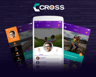 Cross ionic 4 Social Theme A social theme focus on video sharing - ionic 4 version for our hit theme Cross