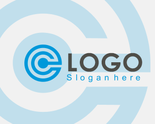 C Logo ionic app theme