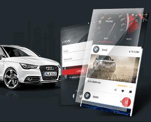 Auto Drive-ionic app theme