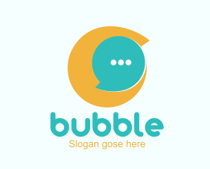 Bubble chat Logo-ionic app theme