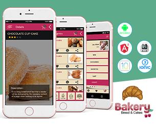 Bakery- app template ionic app theme