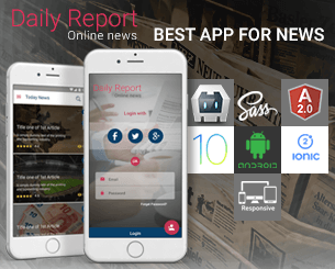 Daily Report ionic app theme