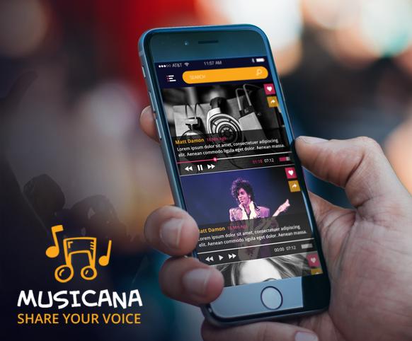 Musicana-ionic app theme