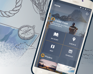 Visitoapp  -travel app template ionic app theme