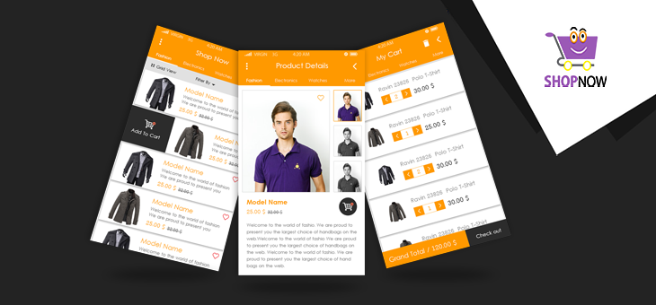 Shop Now-ionic app theme