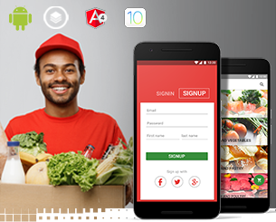 new market- app theme for online grocery ionic app theme