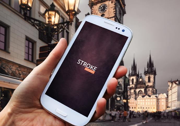 Stroke News ionic app theme