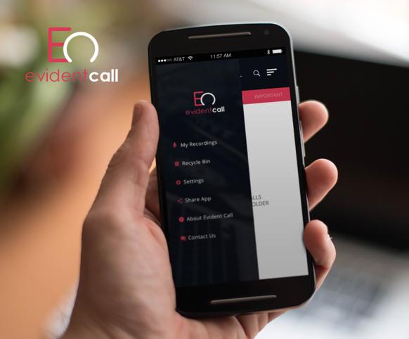 Evident Call ionic app theme