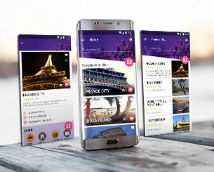 Im Tourist ionic app theme