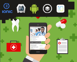 Medical Team ionic app theme