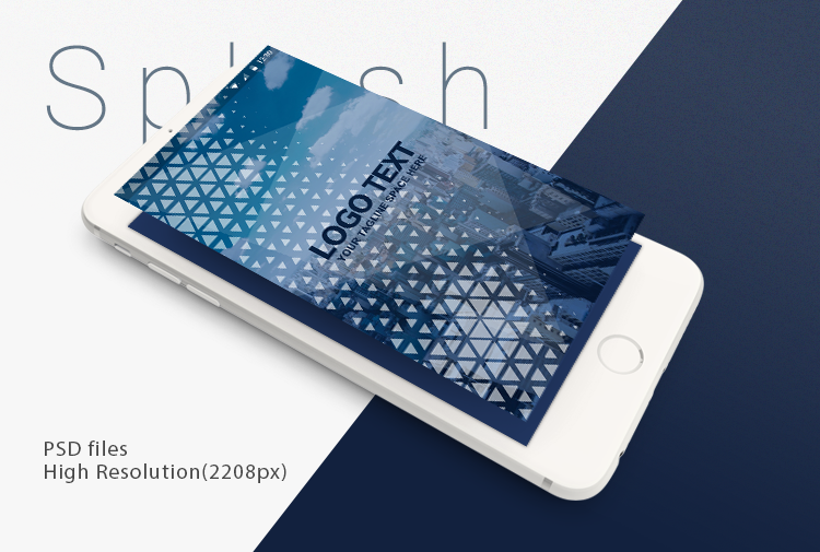 Digital splash-ionic app theme