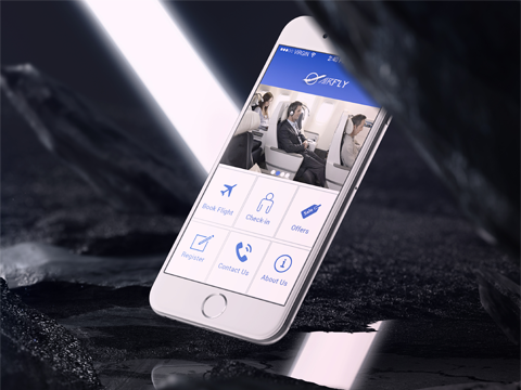 AirFly ionic app theme