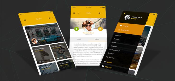 Ten-ionic app theme