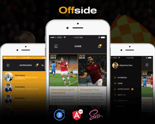 Offside-ionic app theme