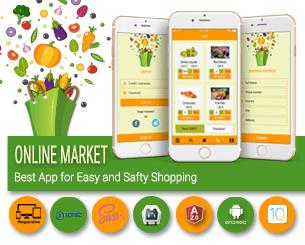 Market ionic app theme