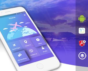 SkyFly-ionic app theme